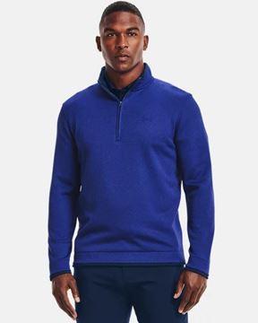 Picture of Under Armour Mens Storm Sweater Fleece 1/4 Zip Pullover 1359971-400