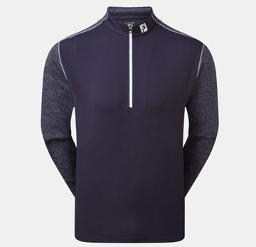 Picture of Footjoy Mens Tonal Heather Chill-Out Pullover - 90295