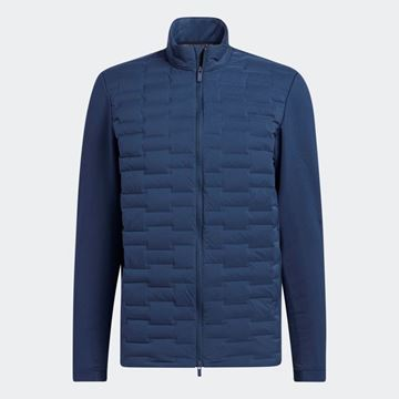 Picture of adidas Frostguard Recycled Content Full-Zip Padded Jacket - Crew Navy - H50984