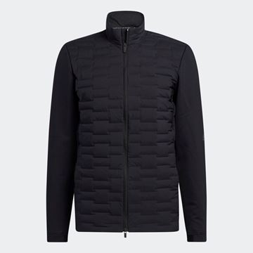 Picture of adidas Frostguard Recycled Content Full-Zip Padded Jacket - Black - H50986