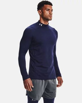 Picture of Under Armour Men's ColdGear® Armour Fitted Mock 1366066-410