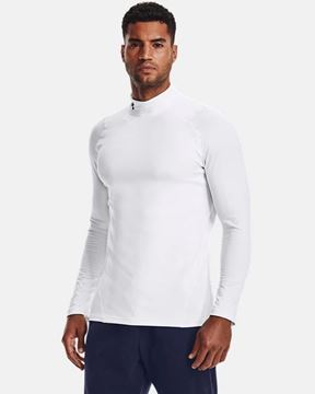 Picture of Under Armour Men's ColdGear® Armour Fitted Mock 1366066-100