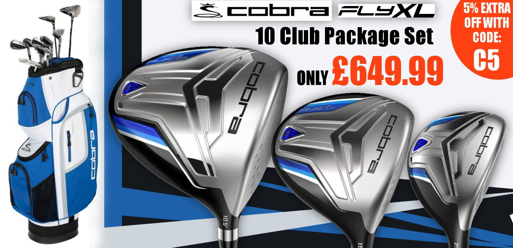 Cobra Fly XL Package